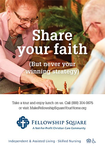 Share your faith ad