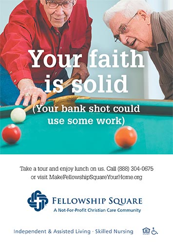 Your faith is solid ad