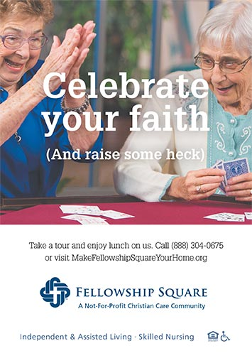 Celebrate your faith ad