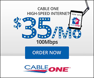 Cable ONE banner ad 300x250