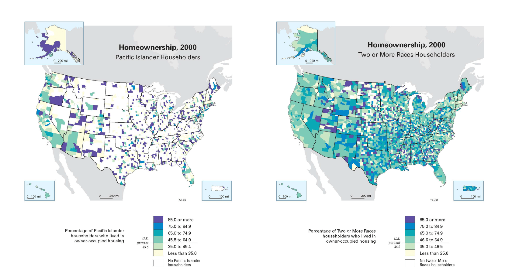 U.S. Census graphic on multicultural housing trends