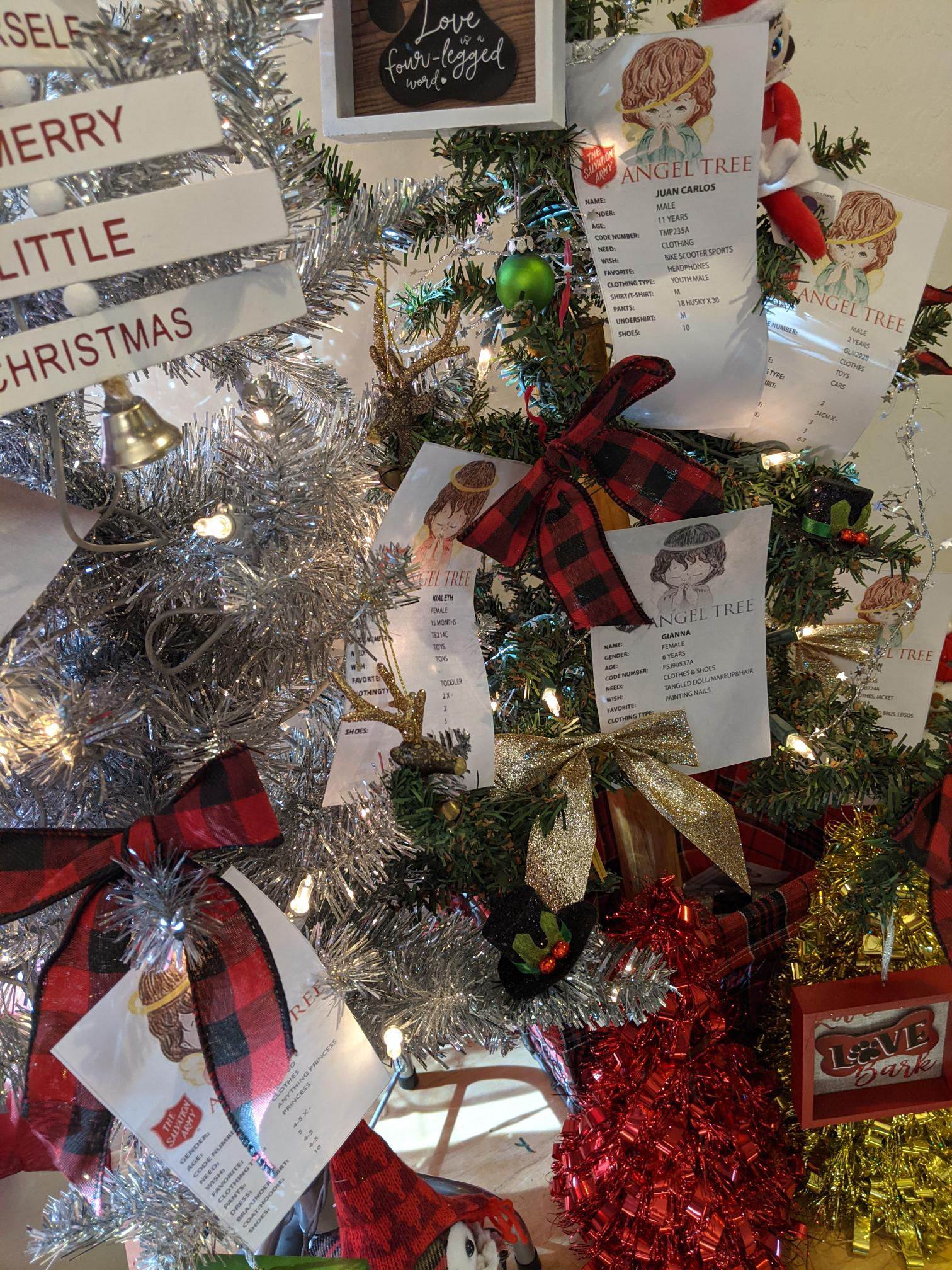 LAVIDGE IMPACT Adopts Salvation Army Christmas Angels